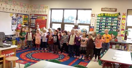 VIDEO: Skeleton Dance-Mrs. Yates' Kindergarten (2015-16)