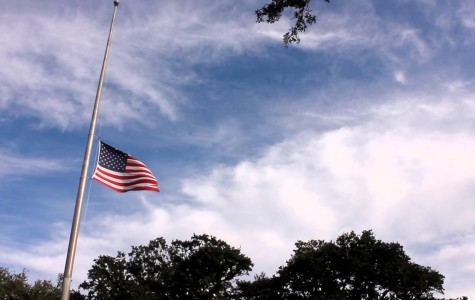 Why is the Flag at Half-Staff?