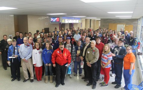Alden High School Welcomes Veterans!