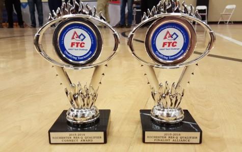Alden Knights Robotics Team Going to FIRST Regionals in Utica