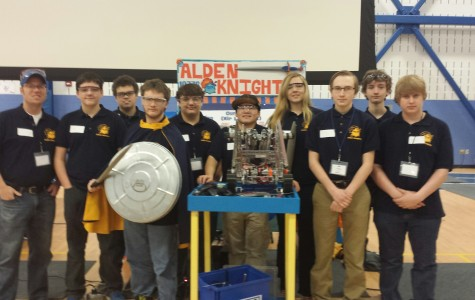 """""""Alden Knights"""" Place 4th in NYS Robotics Championship"""
