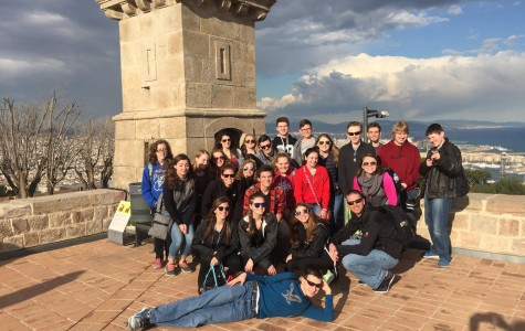 Alden HS Students Take Trip to Spain