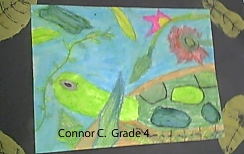 Alden 4th Graders Rousseau-inspired Artworks