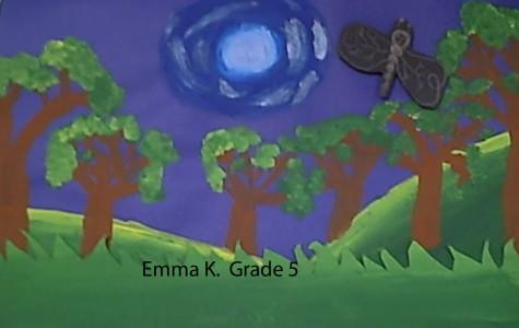 Alden 5th Graders Rousseau-inspired Artworks