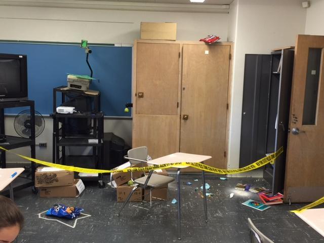 CSI: Alden-8th Graders are on the Case!