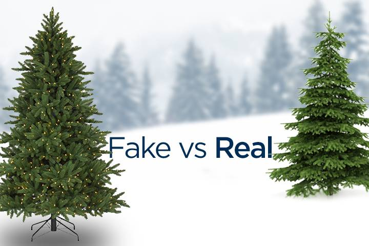 fake or real christmas tree - Christmas Trees Fake