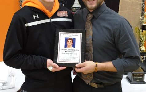 KISSELL SELECTED FOR FIEBELKORN WRESTLING AMBASSADOR AWARD