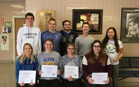High School Students of the Month: March