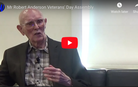 VIDEO: Mr. Robert Anderson Interview (Veterans Day)
