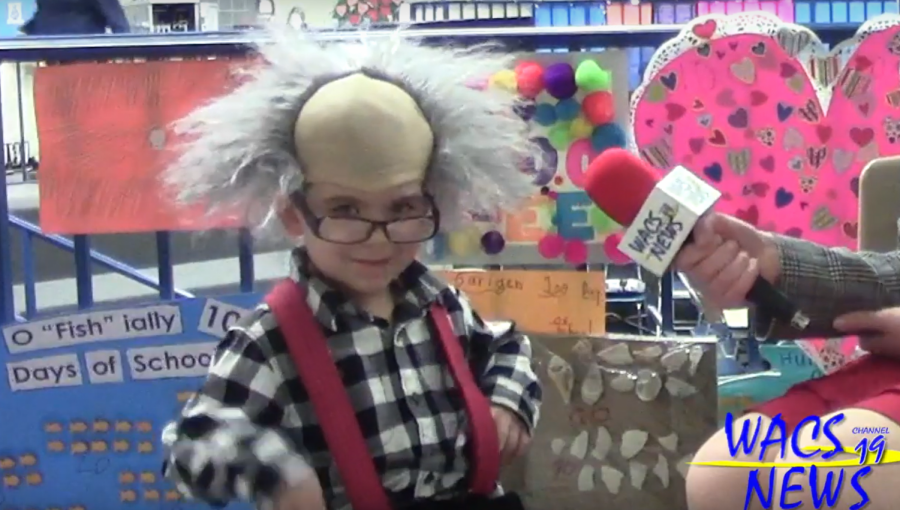 Alden Primary School: Valentine's Day and 100th Day of School