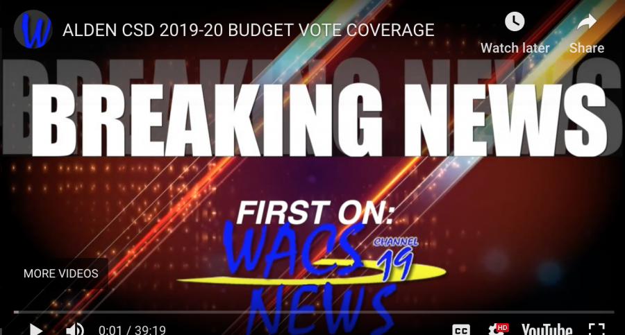 FULL REPORT: Alden CSD 2019-20 Budget