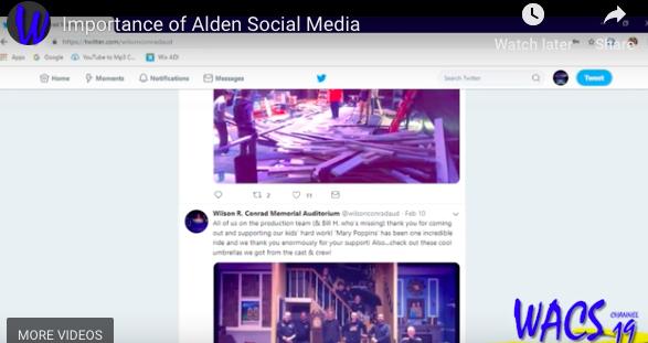 Importance of Alden Social Media