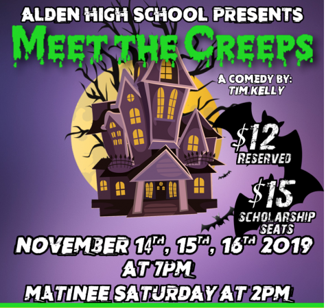 'Spook House' Opens This Week at Alden High School