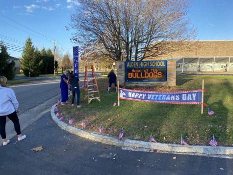 Alden High School 2020 Veterans Day Ceremony