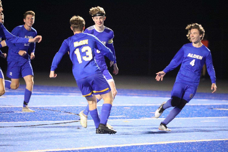 Boys Varsity Soccer Team in Midst of Tremendous Season