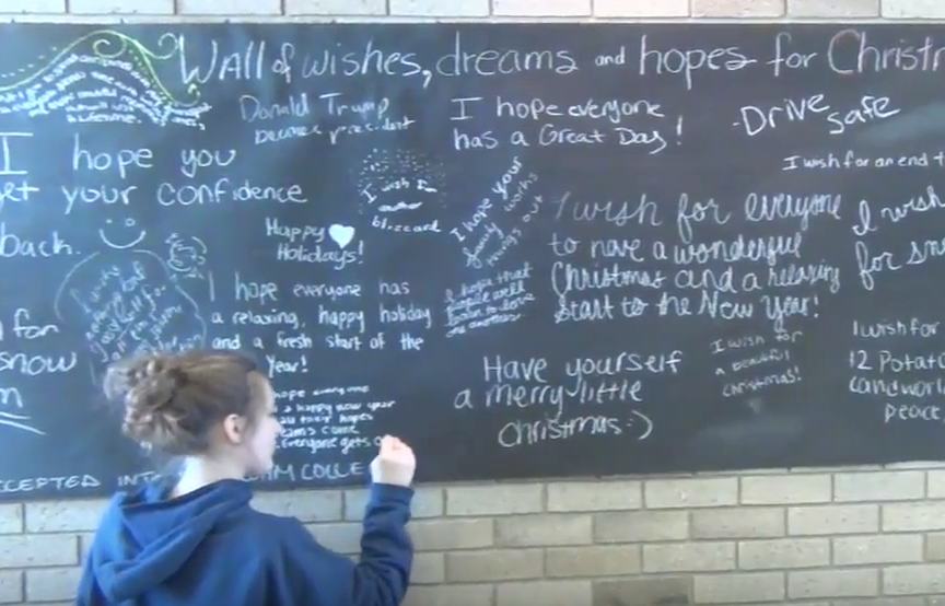 High+School+%22Wall+of+Wishes%2C+Dreams%2C+and+Hopes%22