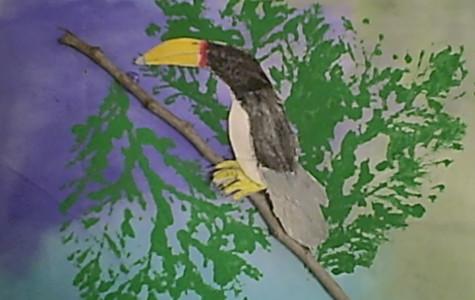 Alden 3rd Graders Rousseau-inspired Artworks