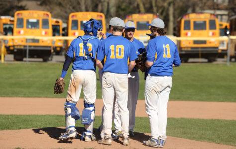 Varsity Baseball Falls to Eden.