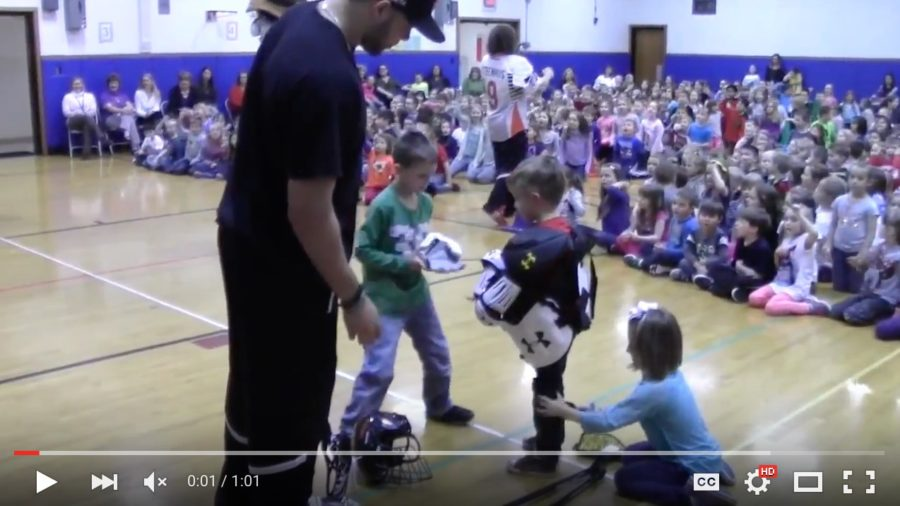 Buffalo Bandits Come to Alden Primary School