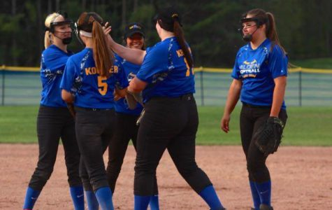 Third Division Title in Four Years for Varsity Softball Team