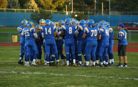 Varsity Football Ends Season in a Close One