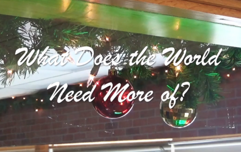 What Does the World Need More of?