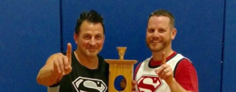 Mr. Carll and Mr. Casillo Badminton Champs: Origin Story