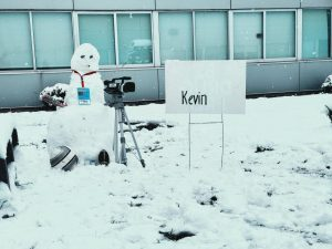WACS News Holds Snowman Competition to Celebrate Earth Day
