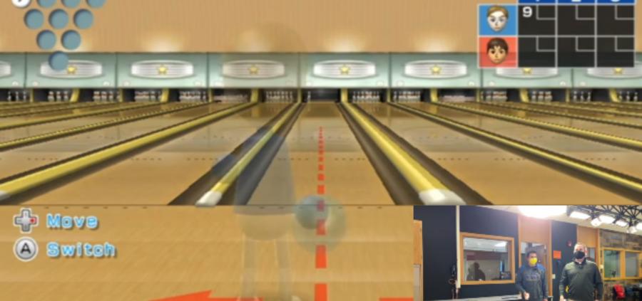 Carll vs. Casillo: Wii Bowling