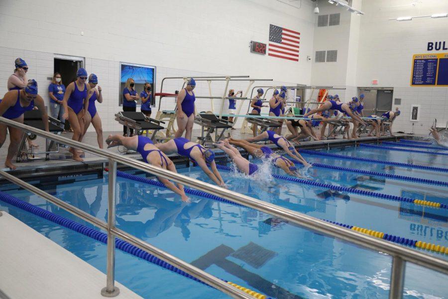 Girls Varsity Swimming On Track To Make History