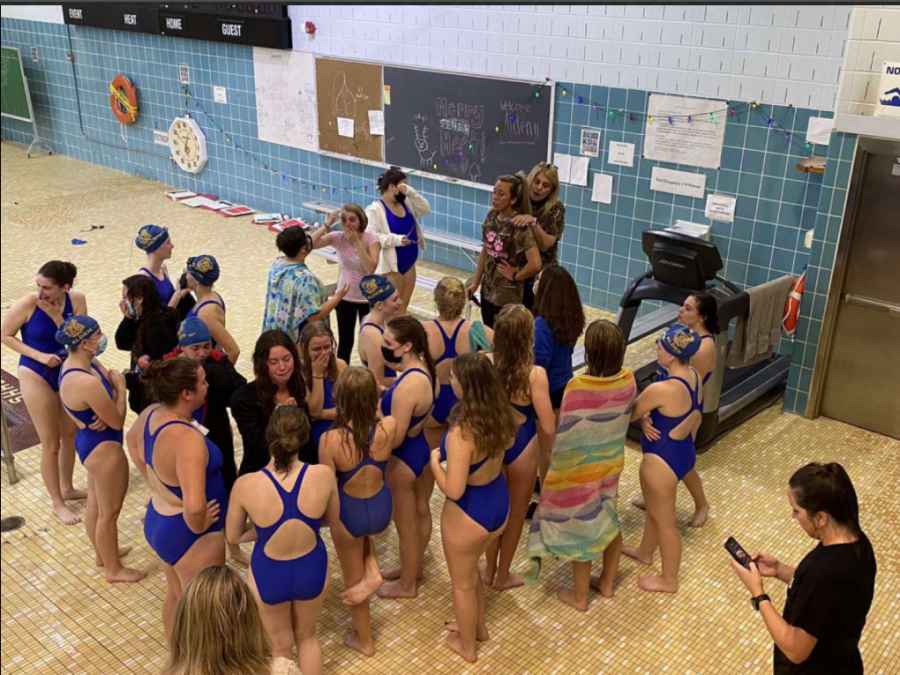 Girls Varsity Swim: First Division Champs in History